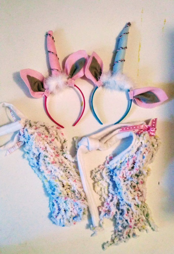 Unicorn Horns 2 in Pink and Blue:magical party favors ow simple unicorn costumes I'm a Shopify merchant with Buyable Pins and I want a conversion tag. I'm not an advertiser.