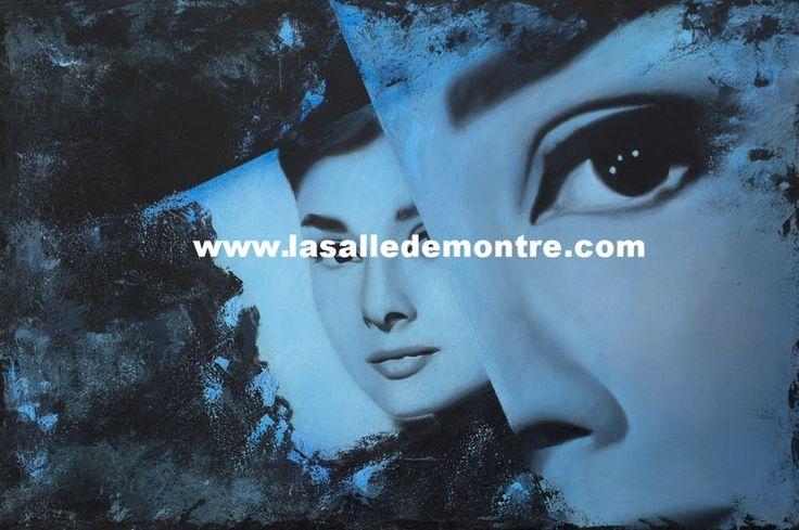 Manon Roy, artiste LSDM Audrey 24 x 36   // 1 500 $  http://lasalledemontre.com/manon-roy-1/audrey