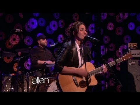 Sara Bareilles Performs 'Let the Rain'/want to do this braided hair look