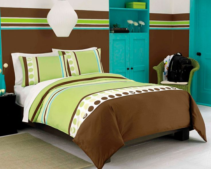100 best images about bedding on pinterest comforter for Lime green bedroom furniture