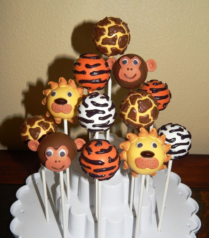 Jungle Cake Pops