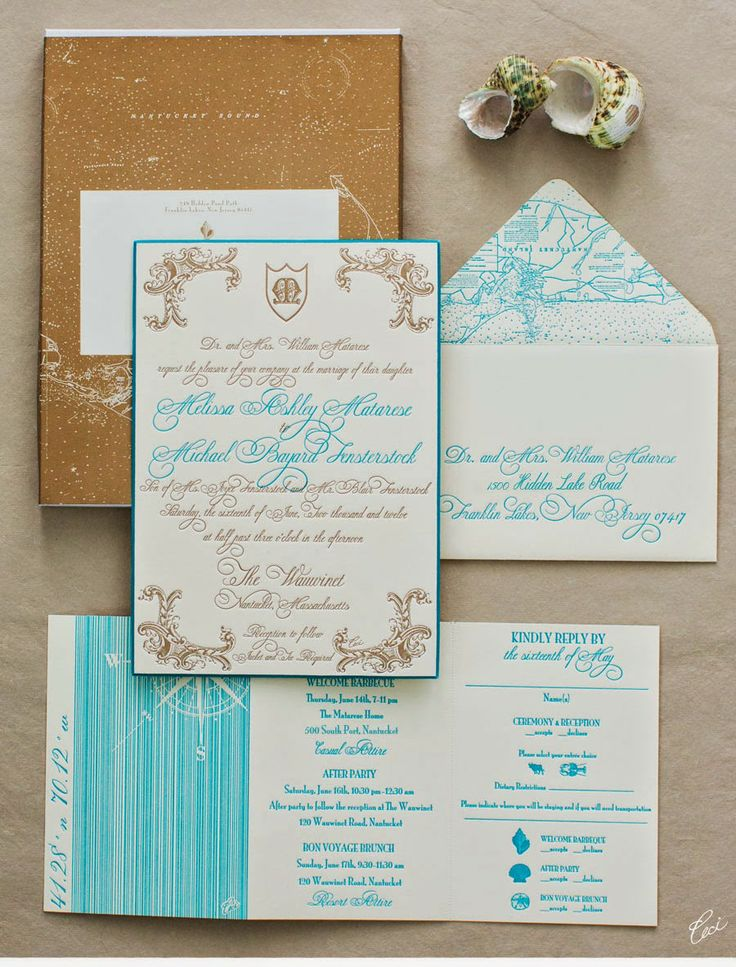 beach wedding invitation examples%0A Luxury Wedding Invitations by Ceci New York  Our Muse  Glamorous Beach  Wedding  Be inspired by Melissa and Michaels glamorous beach wedding   letterpress