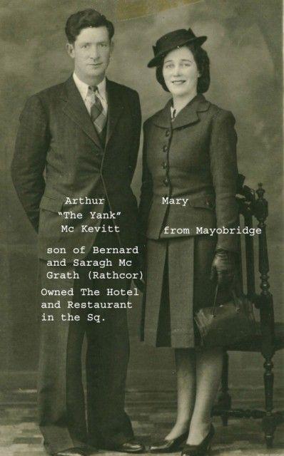 Mc Kevitt Mc Grath Arthur the yank