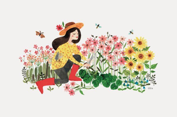 Oana Befort родом изРумынии, получила в Бухаресте степень магистра по графическому дизайну и какое-то время занималась дизайном в рекламных и брендинговых агентствах. А сейчас она живет в Небраске с мужем и двумя детьми и работает фриланс-иллюстратором, сотрудничая со многими брендами. Уана (имя произносится как «wanna») с детства обожала рисовать, и когда оставила работу дизайнера, чтобы …