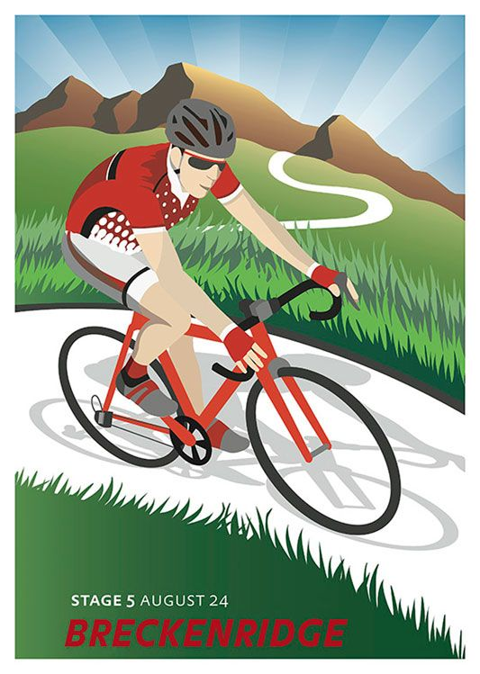 Cycling Vintage Poster, available at 45x32cm. This poster is printed on matt coated 350 gram paper.