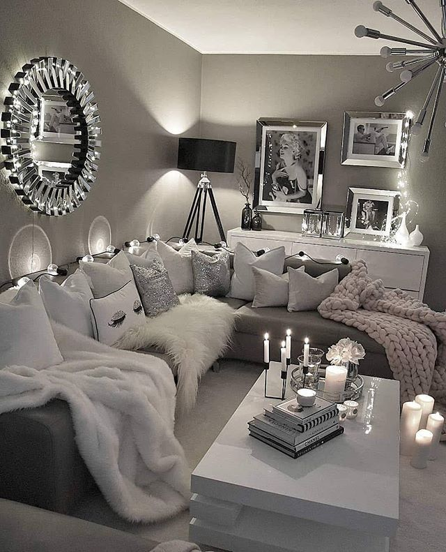 I D Never Leave My Couch Cozy N Cute Homedecor Livingroom Fall D Apartment Living Room Design Small Apartment Living Room Living Room Grey Cute apartment living room decorating