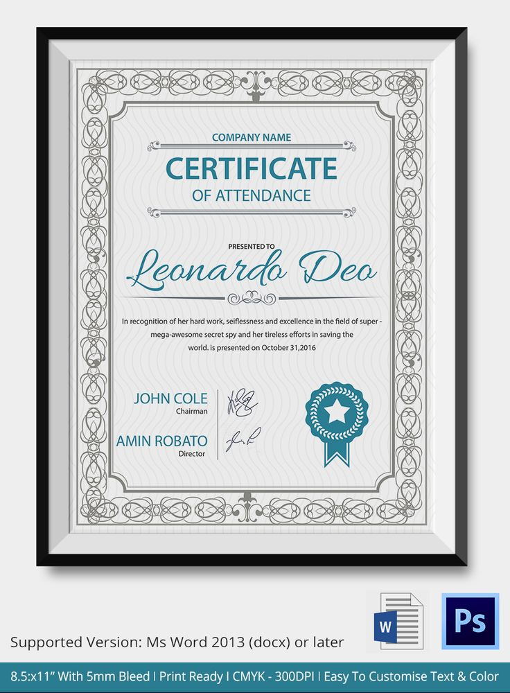 The 25+ best Certificate of completion template ideas on Pinterest - sample baptism certificate template