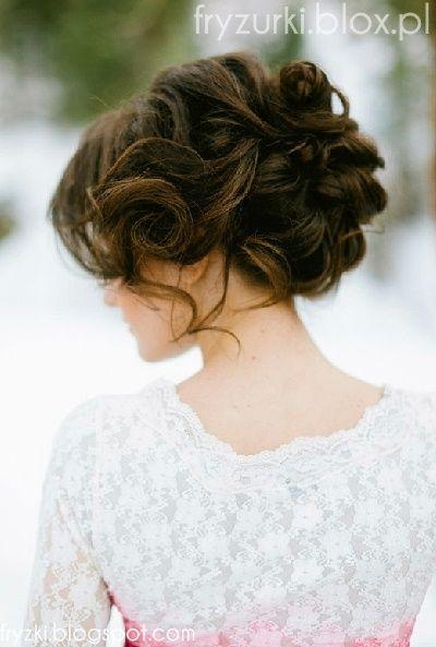 fryzura na studniówkę, studniówkowa, ślubna slub, weselna, wesele kok upięcie, prom, hair airstyle 2013 2014