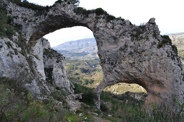 006 - Els Arcs, Castell de Castells, Alicante PR CV 151 by Descubriendo Alicante.