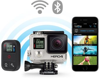 Buy GOPRO HERO4 Action Camcorder - Black Edition | Free Delivery | Currys