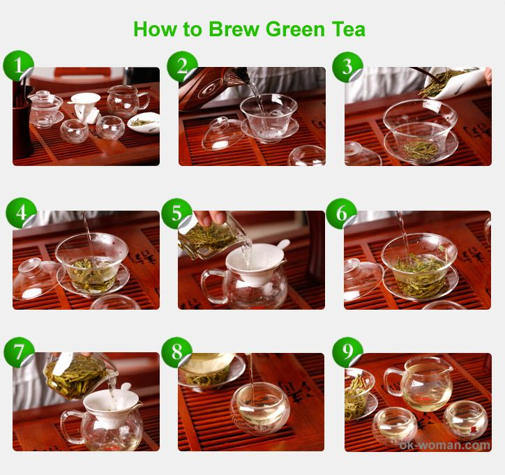 how to make tea instructions