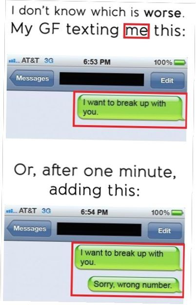 14 Funny Break Up Texts That Will Leave Shocked