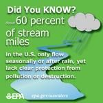 """What's an """"intermittent stream"""" and why are they important?"""