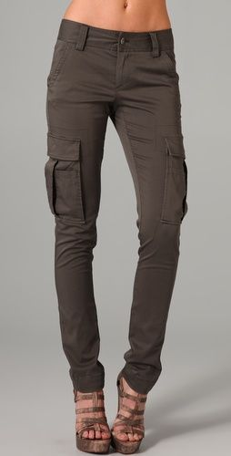 dont like the shoes, but I love cargo skinnies