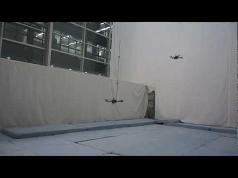 Watch These Quadcopters Flip A Reverse Pendulum Into The Air And Catch It (No, Seriously, Watch)
