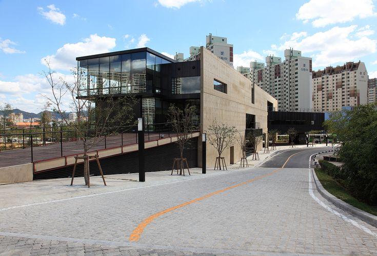 Centro de apoio da Bienal de Gwangju / IROJE Architects & Planners