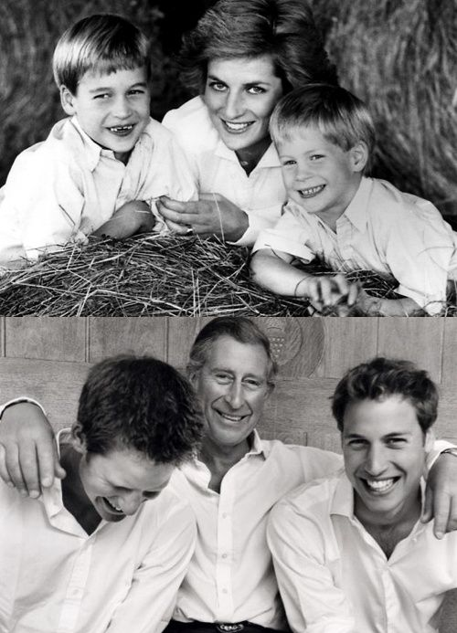 Nice composite.  Whatever his faults, Charles loves his boys and they him. Between the two of them they raised two fun, polite, worldly yet down to earth children.