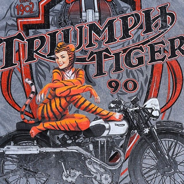 Teeshirt graphics have come a long way. Check out our great selection of both modern and vintage styles at shop.triumphmotorcycles.com (Canada: shop.triumph-motorcycles.ca) and at your #Triumph dealer. #FathersDay #Padgram