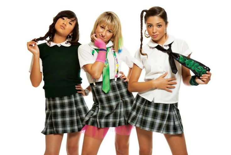 School Gyrls (first line-up) | 2008-2012  were an American girl group.