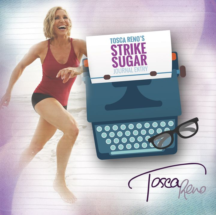 Don't forget - I'm doing the #StrikeSugarChallenge right there with you! See what I'm feeling and thinking at the second week mark in my #StrikeSugar Week 2 journal entry! #toscareno #eatclean #sugarfree #detox #cleanse #cleaneating