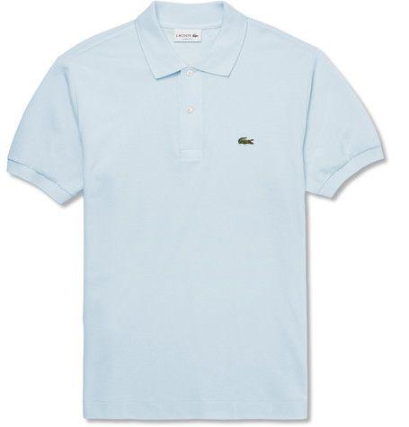 Lacoste Cotton-Piqué Polo Shirt ($90)