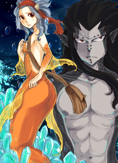 GaLe mermaids!!!!!!!!!! Love all this fanart plus the fanfiction is awesome!!!!!!!!!! Fanfic: Dark Waters ||GaLe||