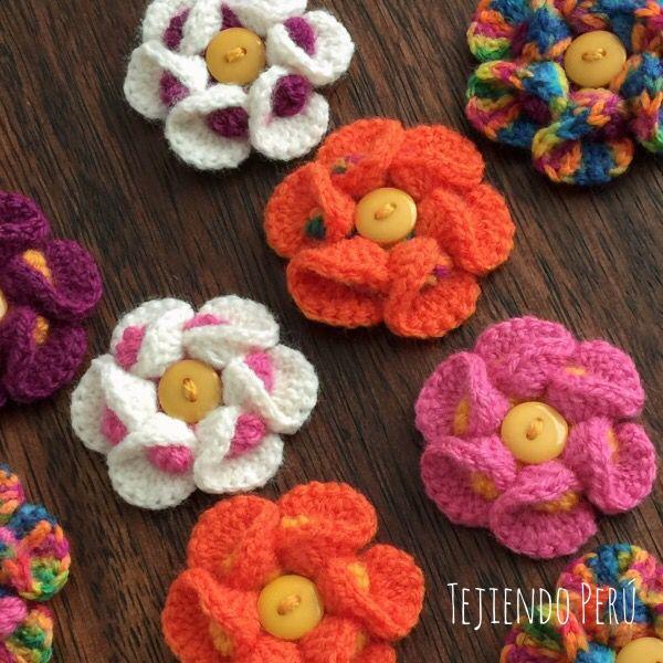 Flores 3d bobble crochet english subtitles video bobble - Como hacer flores de ganchillo ...