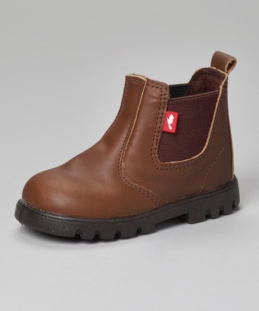 Callum Tan Leather Ranch Boots - Infant, Toddler & Girls by Chipmunks on #zulilyUK today! £11.50