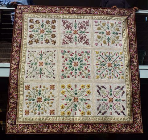 Based on Dear William, a pattern by Michele Hill