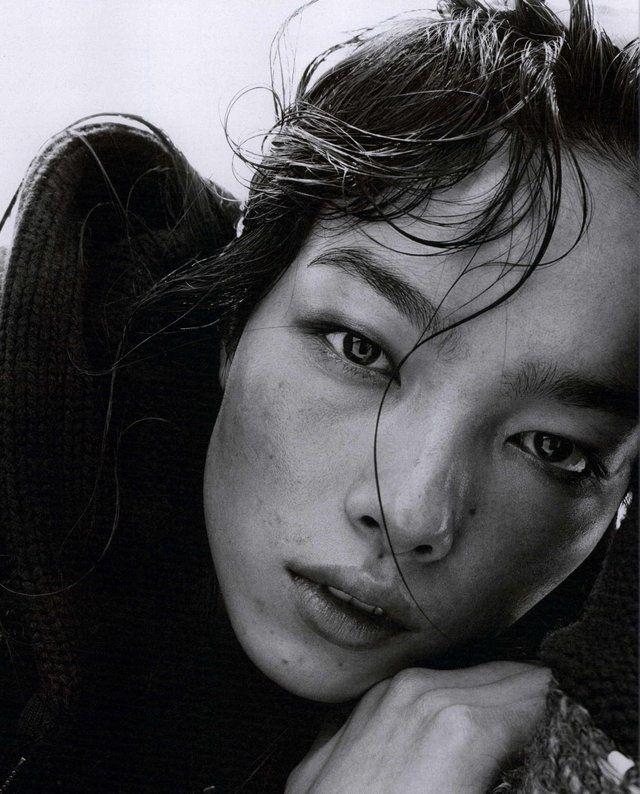 Fei Fei Sun photographed by Steven Meisel