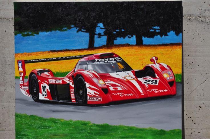 Arte: Ferrari 312PB E Toyota LMS, di Enrico Niccolini