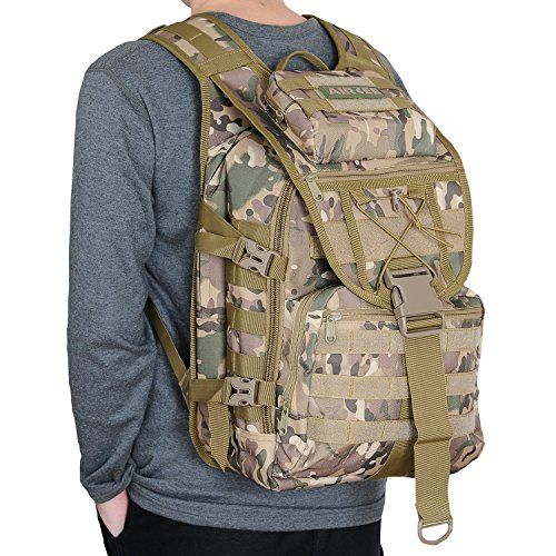 Aircee (TM) 40L Outdoor Gear Assault 3P Backpack Small Tactical Molle TAD Backpack Waterproof Travel Daypack Military Rucksacks (CP Camo) For Sale https://besttacticalflashlightreviews.info/aircee-tm-40l-outdoor-gear-assault-3p-backpack-small-tactical-molle-tad-backpack-waterproof-travel-daypack-military-rucksacks-cp-camo-for-sale/