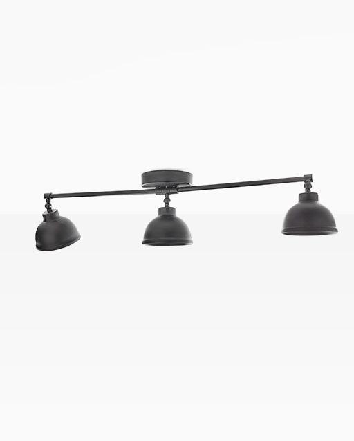 """Luminaire Authentik s'inspirant du style industriel des années 1950, il pourra être installé dans toutes les pièces de vie de votre maison afin d'ajouter une touche avant-gardiste à votre décor. Tous les styles AK sont conçus avec la plaque murale «Authentik» et s'installent aussi bien à l'intérieur qu'à l'extérieur de votre demeure ou de votre commerce. Dimensions: abat-jour 5"""" x4"""" / largeurtotale : 36″"""