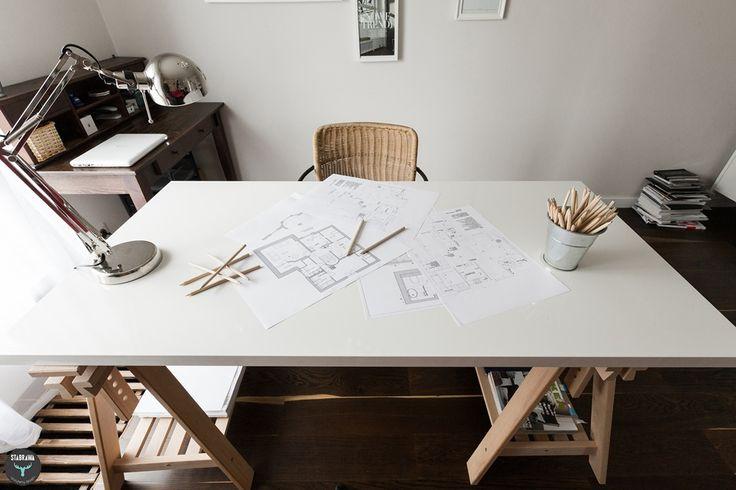 Biuro, miejsce do pracy, biurko