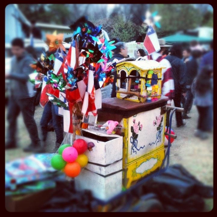Organillero de Fiestas Patrias