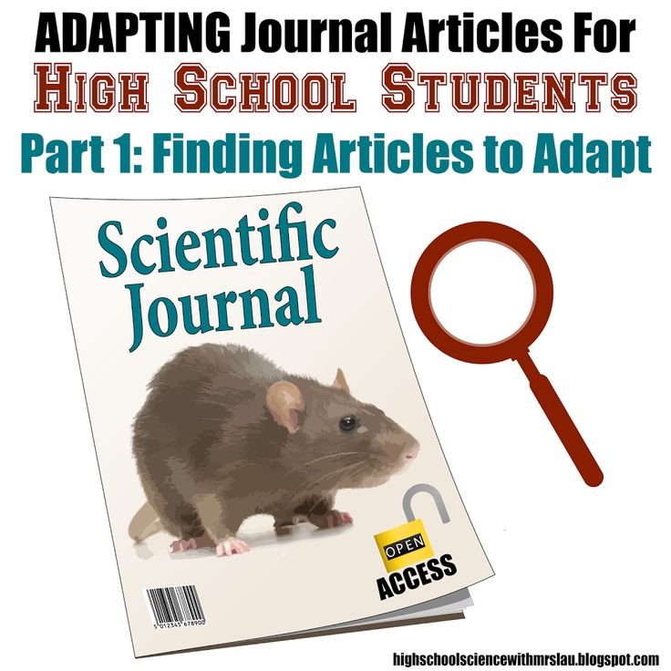 Adapting Journal Articles for High School Students Part 1 - Science and Math with Mrs. Lau
