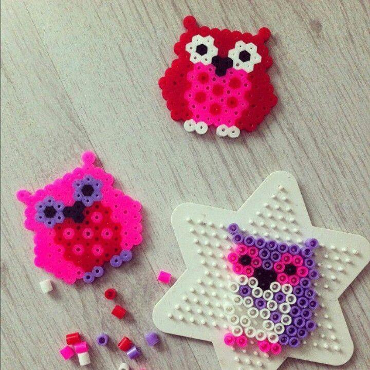 Owl hama pattern