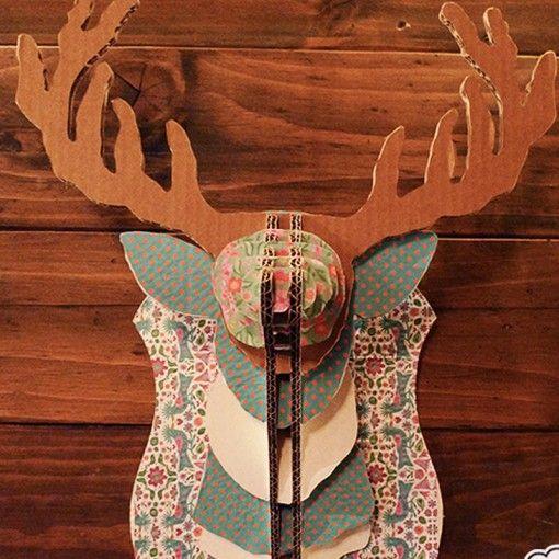 En nuestro interés por difundir talleres hechos con materiales, te recomendamos éste que te enseña a personalizar un reno de cartón. Si estás cerca de Barcelona, no dejes de apuntarte este sábado 20 de Diciembre y dar a todo el mundo una sorpresa para Navidad! #MWMaterialsWorld #reindeer #reno #DecoracionNavidad