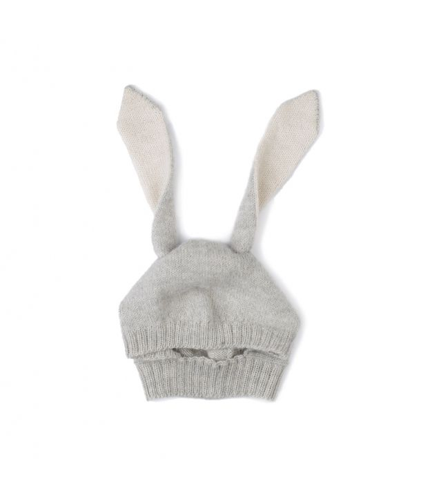 Hat Animal Rabbit grey