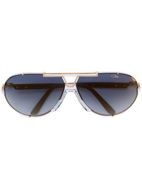 Shop Cazal aviator sunglasses.