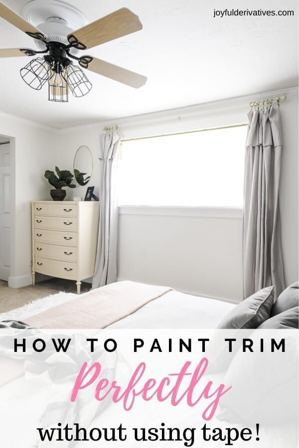 How To Paint Trim Without Tape The Ultimate Guide Painting Trim Painting Trim White How To Paint Trim With Carpet