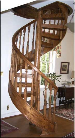 I want this, but enclosed, like in a closet almost, right off the kitchen, for easy access to the upstairs.