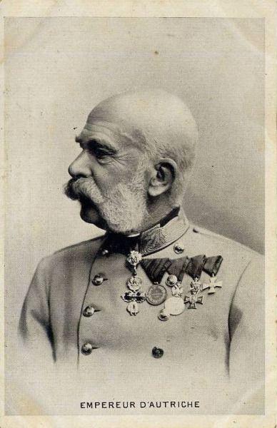 Emperor Franz Josef I of Austria