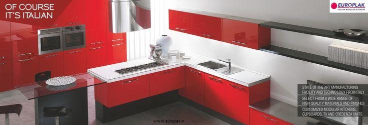 Europlak India manufactures modular kitchens & bedroom furniture that ...
