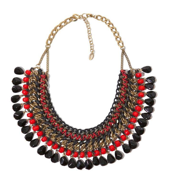 L'accessoire du dimanche #23 : Mon collier plastron.