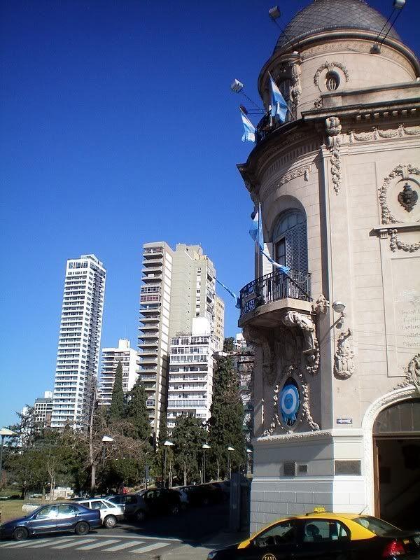 De visita en Rosario, la tercersegunda ciudad de Argentina -