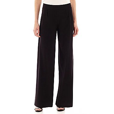 jcp | Liz Claiborne® Knit Wide-Leg Pants - Tall | My Funky-Chic ...