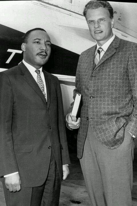 Marther Luther King And Rev. Billy Graham!!
