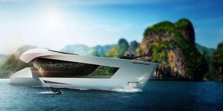 Nézze meg a jövő jachtját!