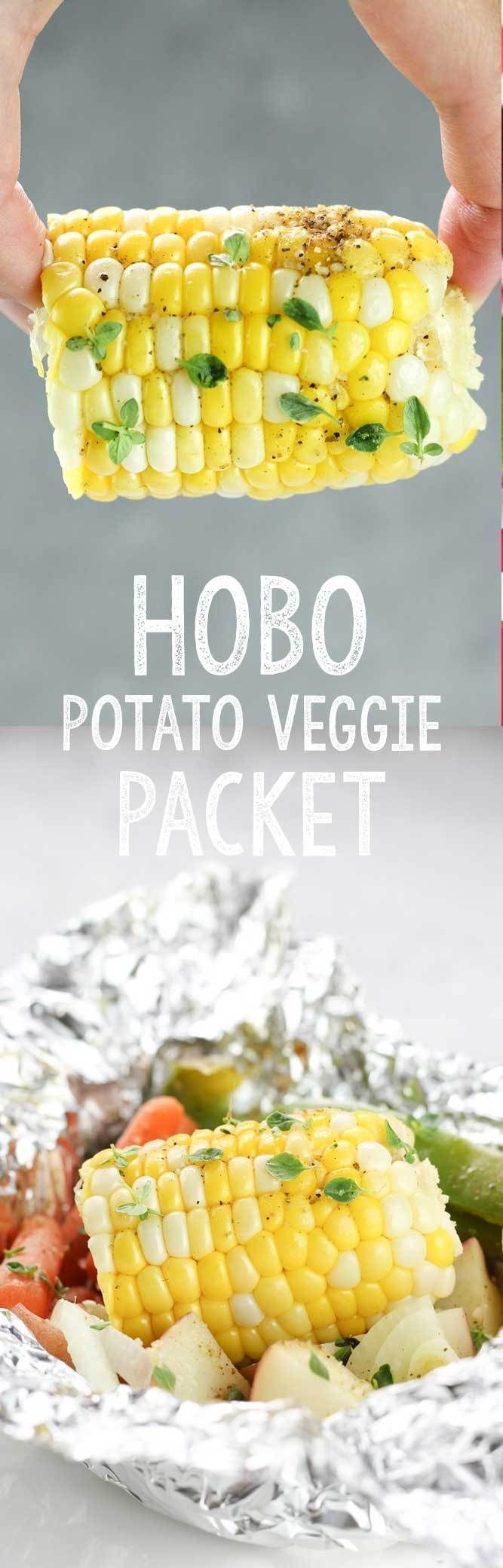 A vegetable pack for hobo potatoes is the perfect food or aluminum trim! – Reci …   – Foil Pack Meals